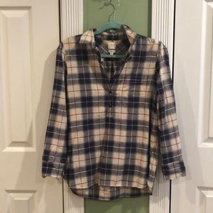 J. Crew factory boy fit flannel